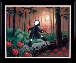 So Much Love - Signed Limited Edition Print From Mackenzie Thorpe Framed