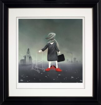 Sunday Best - Signed Limited Edition Print from Mackenzie Thorpe Framed