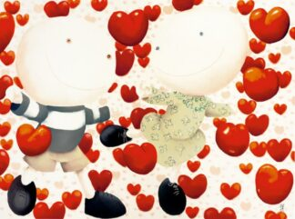 Dancing in Love - Signed Limited Paper Edition From Mackenzie Thorpe