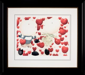 Dancing in Love - Signed Limited Paper Edition From Mackenzie Thorpe Framed