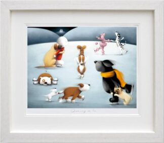 Dancing on Ice - Signed Limited Edition Paper print From Doug Hyde Framed