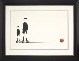 Like Father Like Son - Signed Limited paper Edition from Mackenzie Thorpe Framed