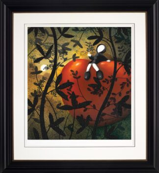 Light Of My Life - Signed Limited Paper Edition from Mackenzie Thorpe Framed