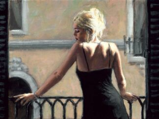Sally In San Telmo II - Signed Limited Edition By Fabian Perez