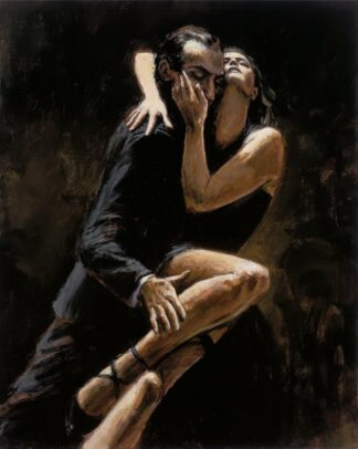 Study for Tango by Fabian Perez Signed Limited Edition - Canvas on board