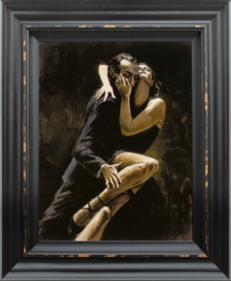 Study for Tango by Fabian Perez Signed Limited Edition - Canvas on board Framed
