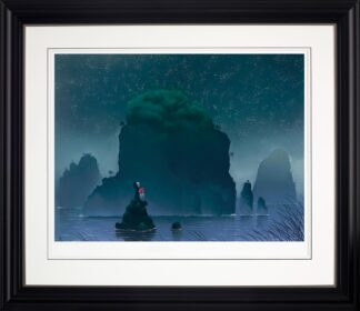 You're My Rock - Signed Limited Paper Edition from Mackenzie Thorpe Framed