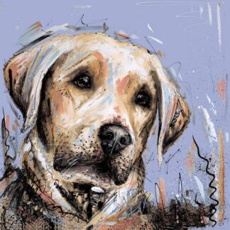 Paws For Thought Signed Limited edition print by Samantha Ellis unframed