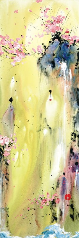 Attainment I - Signed Limited Edition Print From Danielle O'Connor Akiyama - Boxed Canvas