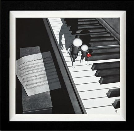 You'll Never Walk Alone - Signed Limited edition Framed By Mark Grieves