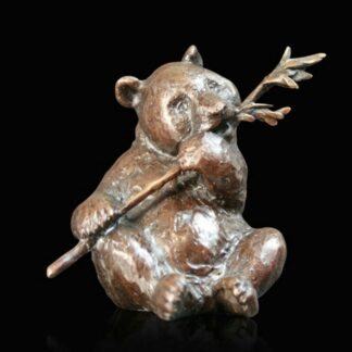 Panda - Signed Limited Edition Bronze Sculpture From Michael Simpson