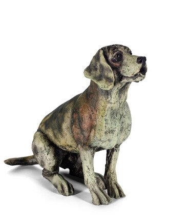 Paying Attention - Signed Limited Edition Porcelain sculpture From April Shepherd