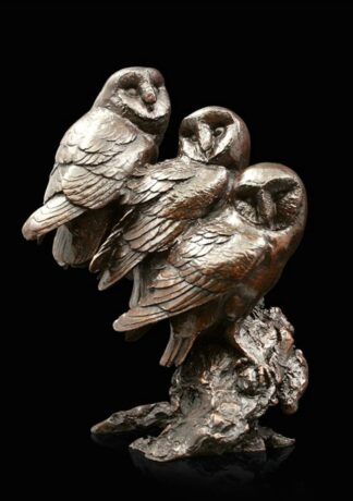Watchful - Signed Limited Edition Bronze Sculpture From Michael Simpson