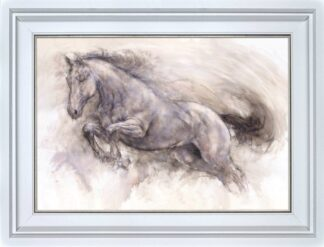 Lightning - Signed Limited Edition Print By Gary Benfield - Canvas on Board - Framed