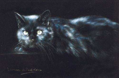 Black Magic - Signed Limited Edition Print by Vivien Walters