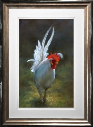 The Boss by Vivien Walters Framed