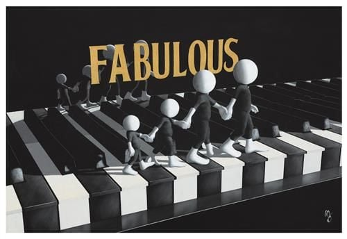 Fabulous - Signed Limited Edition Print by Mark Grieves -Paper & Mounted - Unframed