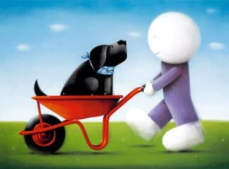 Daisy Trail - Signed Limited Edition Paper Print by Doug Hyde - Mounted