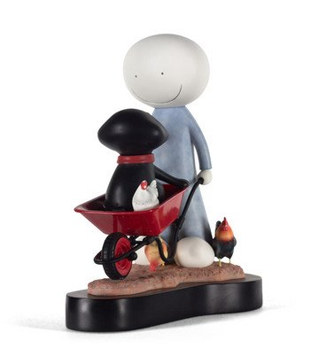 Daisy Trail - Signed Limited Edition Resin Sculpture By Doug Hyde