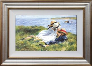 Island Lookouts - Signed Limited Edition Canvas Print By Sherree Valentine Daines - Framed