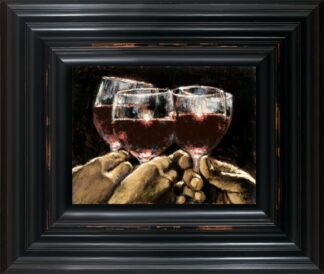 Study For a better life IV - Signed Limited Edition Print by Fabian Perez - Canvas on board Framed