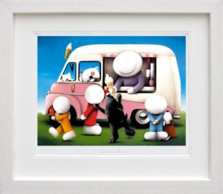 Summertime - Signed Limited Edition Paper Print By Doug Hyde - Mounted