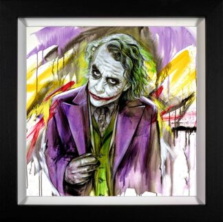 Ace Of Knaves - Signed Limited Edition Hand Embellished Canvas Print on Board by Jen Allen - Framed