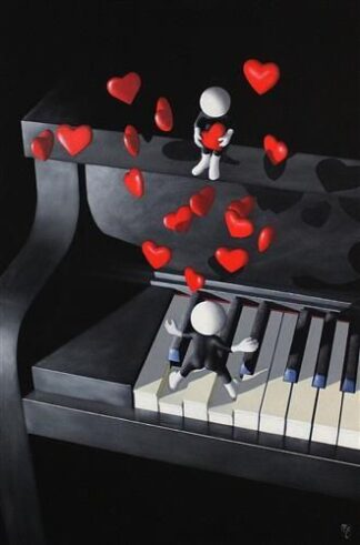 Our Love song - Signed Limited edition Paper print by Mark Grieves unframed
