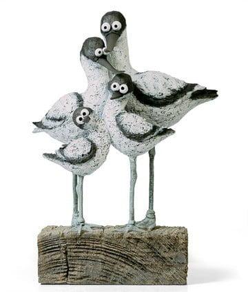 Sea Legs - Signed Limited Edition Cold Cast Porcelain sculpture by Rebecca Lardner
