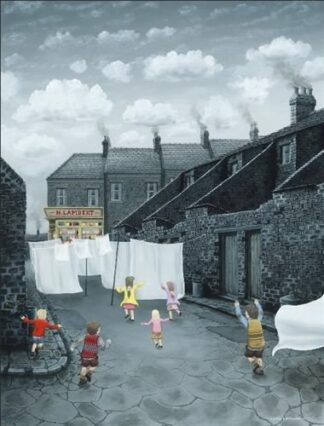 Through The Sheets to The Sweets - Signed Limited Edition Print by Leigh Lambert unframed