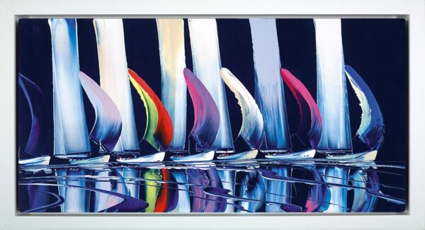 True Colours Signed Limited edition boxed canvas print by Duncan Macgregor Framed in the artists recommended frame