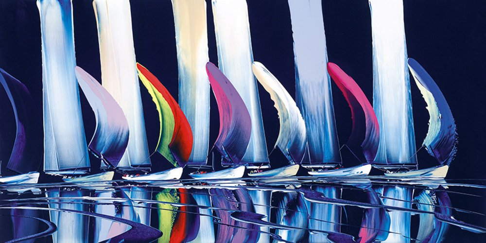 True Colours - signed Limited Edition Print By Duncan MacGregor - Glazed Box Canvas unframed