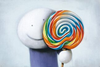 Lollipop, Lollipop - Signed Limited Edition Paper Print Mounted by Doug Hyde - FRAMED