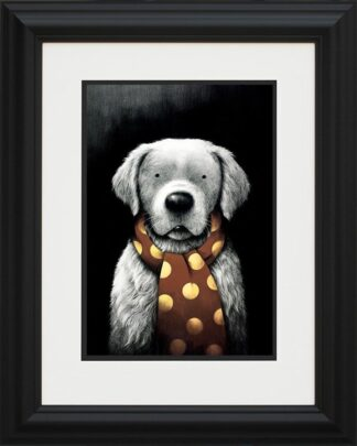 Man's Best Friend - Signed Limited Edition Paper Print Mounted By Doug HYDE - FRAMED