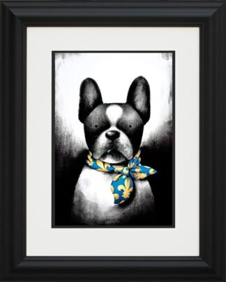 Parisian Chic - Signed Limited Edition Paper Print Mounted and FRAMED