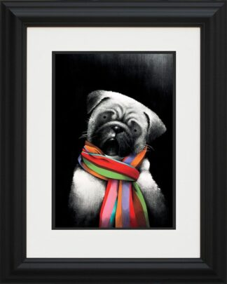 Small But Mighty - Signed Limited Edition Paper Print Mounted By Doug Hyde - FRAMED