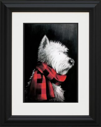 West End Girl - Signed Limited Edition Paper Print Mounted By Doug Hyde - FRAMED