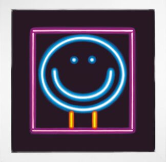 You Light Up My World - Signed Limited Edition Neon Billboard Boxed Canvas By Doug Hyde - FRAMED