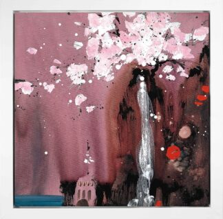 Painted Dreams I - Signed Limited Edition Glazed Boxed Canvas Print by Danielle O'Connor Akiyama - FRAMED