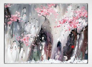 Refuge - Signed Limited Edition Glazed Boxed Canvas Print By Danielle O'Connor Akiyama - FRAMED