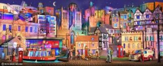 Lincoln Way - Signed Limited Edition Paper Print by Keith Drury - Unmounted