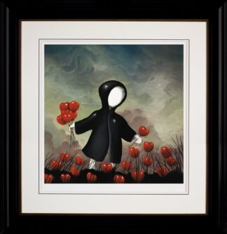 Gathering Love- Signed Limited Edition Print Paper and Mounted by Mackenzie Thorpe Framed