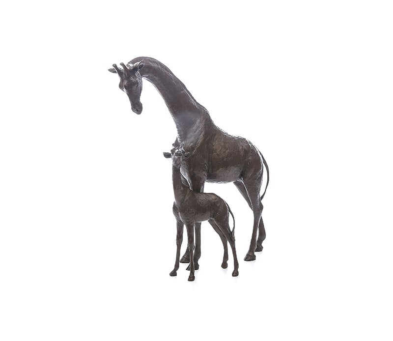 High Hopes - Signed Limited Edition Bronze Sculpture by Michael Simpson