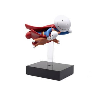 Is It A Bird, Is It A Plane - Signed Limited Edition Cold Cast Porcelain Sculpture from Doug Hyde