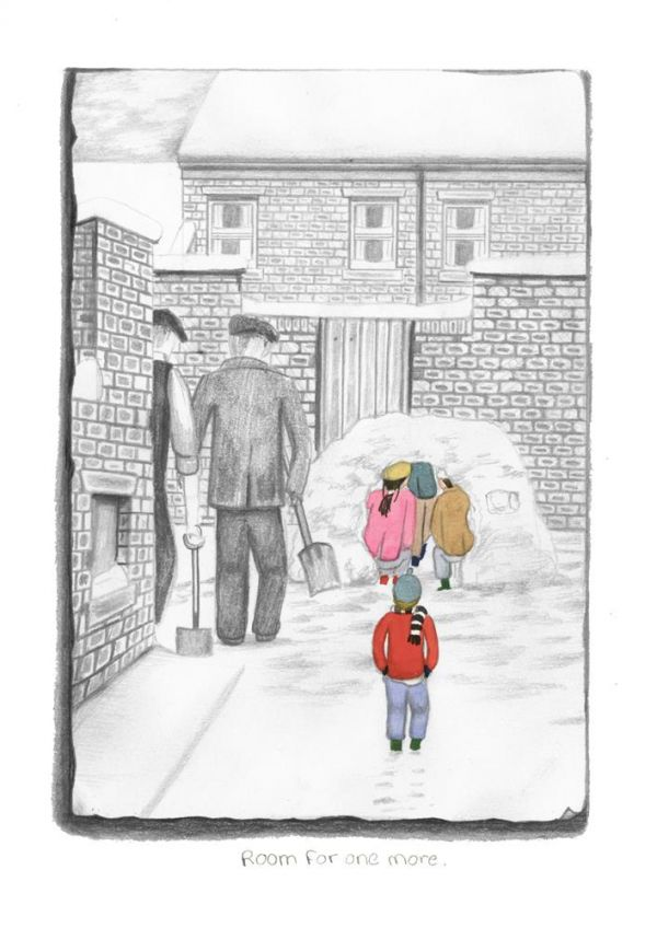 Room For One More - Signed Limited Edition Paper Print by Leigh Lambert - Mounted