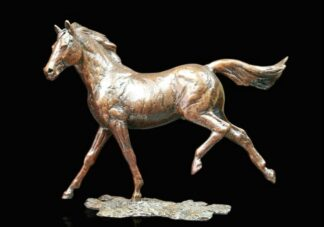 Grace Bronze Sculpture By Michael Simpson