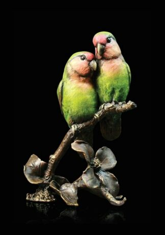 Lovebirds Sculpture by Michael Simpson