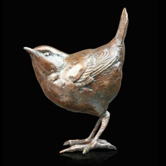 Wren Sculpture by Michael Simpson
