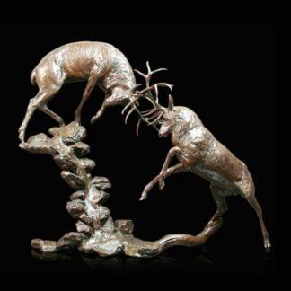 Highland Falls Bronze Sculpture by Michael Simpson