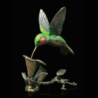 Hummingbird Sculpture by Michael Simpson